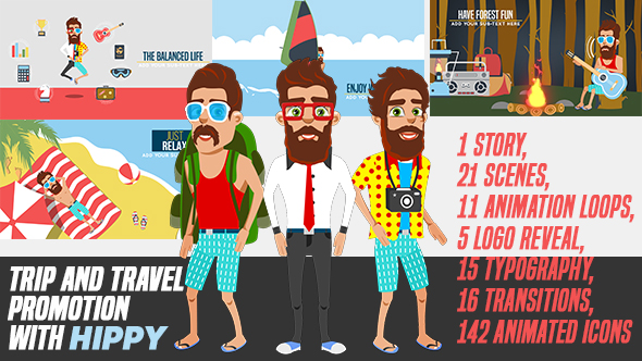 Trip and Travel Promotion with Hippy